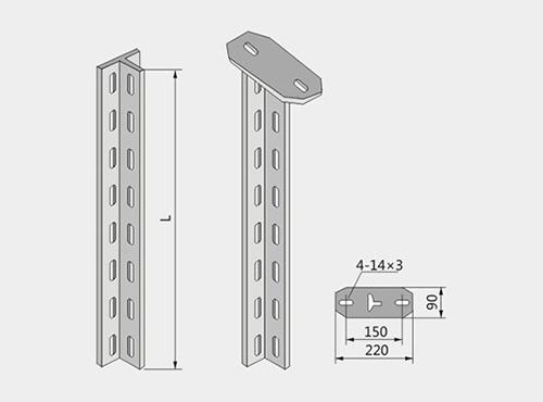 丁字钢立柱XQJ-H-01B型