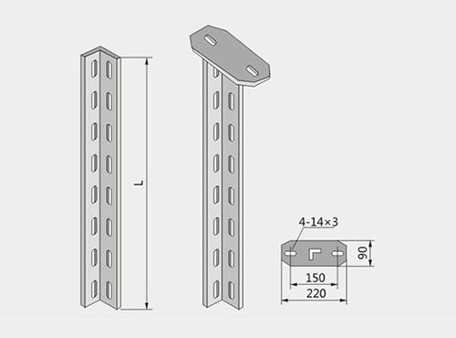 角钢立柱XQJ-H-01D型