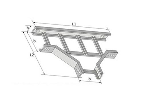 梯级式水平三通XQJ-T1-03型