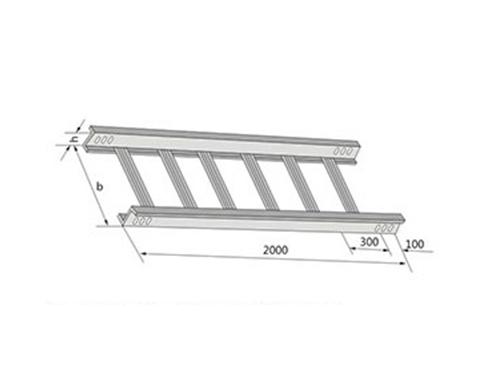 梯级式直通桥架XQJ-T2-01型