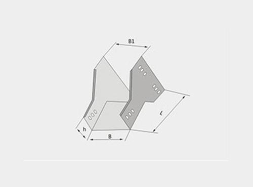 槽式下角垂直三通XQJ-C-03H型